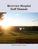 Riverview Hospital Staff Manuals